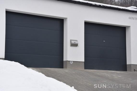 Sekčné garážové brány - Žilina, 2016