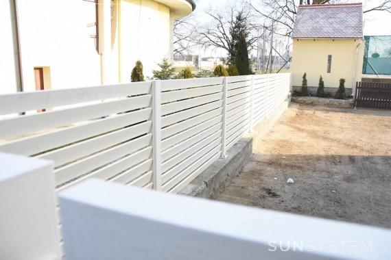 Lamelové hliníkové ploty TURF - Veselí nad Moravou