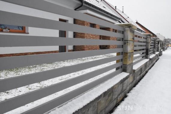 Horizontálne plaňkové ploty RAND - Lednice 2017