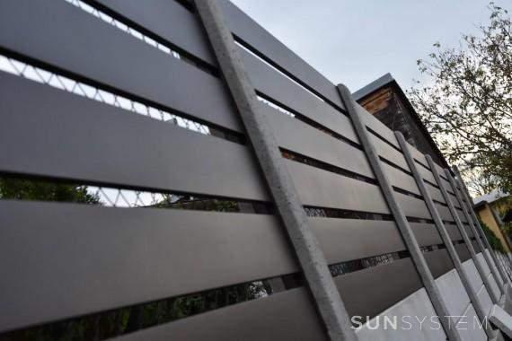 Hliníkové plotové dielce RAND - Kozojídky 2017