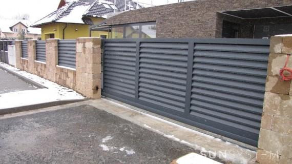 Hliníkové ploty pre novostavbu NOVA - Mariánské Lázně