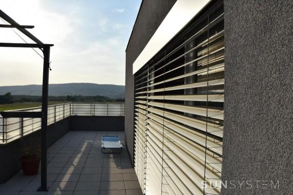 Vonkajšie žalúzie na balkonové okná Z-70 - Senec, 2017