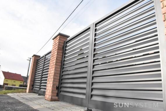 Vjazdové brány a ploty NOVA - Přerov 2017