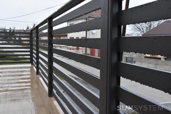Hliníkový plot a zábradlie RAND - Budmerice 2017