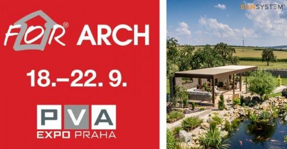 Veľtrh For Arch v Prahe - máme pre vás vstupenky ZADARMO