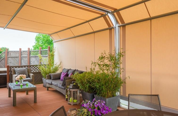Hliníková záhradná pergola ARCADA