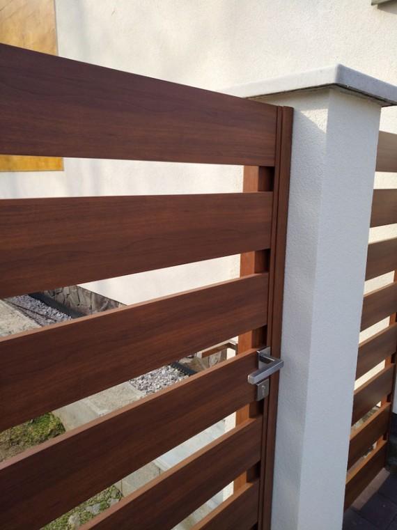 ABC-bývanie.sk: Bezúdržbový moderný plot vás zbaví starostí a vyzerá ako z dreva