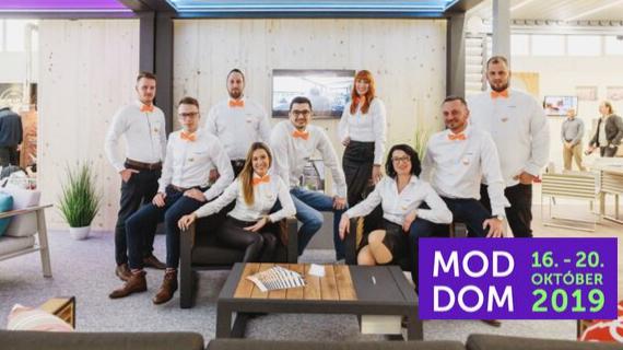 Zastavte sa za nami na veľtrhu MODDOM 2019 v Bratislave