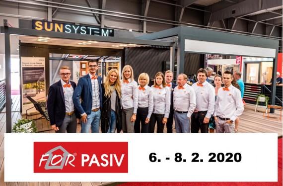 ZASTAVTE SA ZA NAMI NA FOR PASIV 2020 V PRAHE