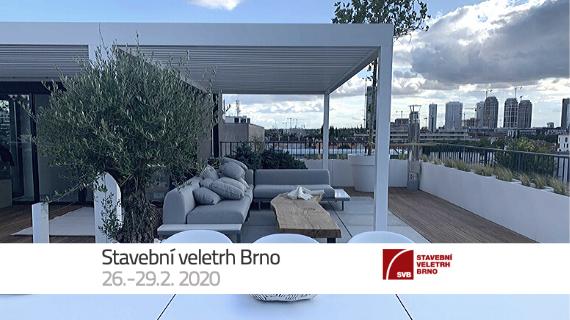 Pozývame vás na Stavebný veľtrh Brno 2020 - stiahnite si vstupenky zadarmo